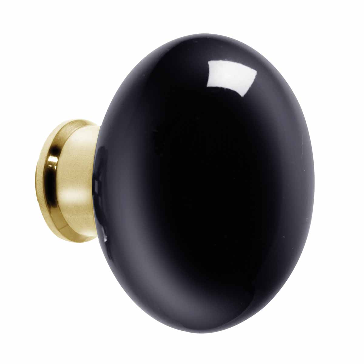 black door knobs photo - 8