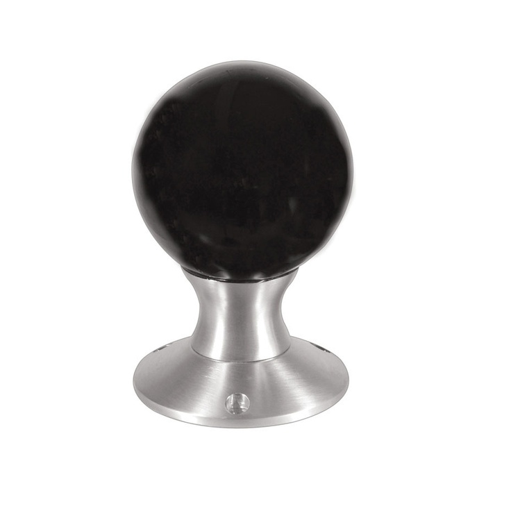 black glass door knobs photo - 6