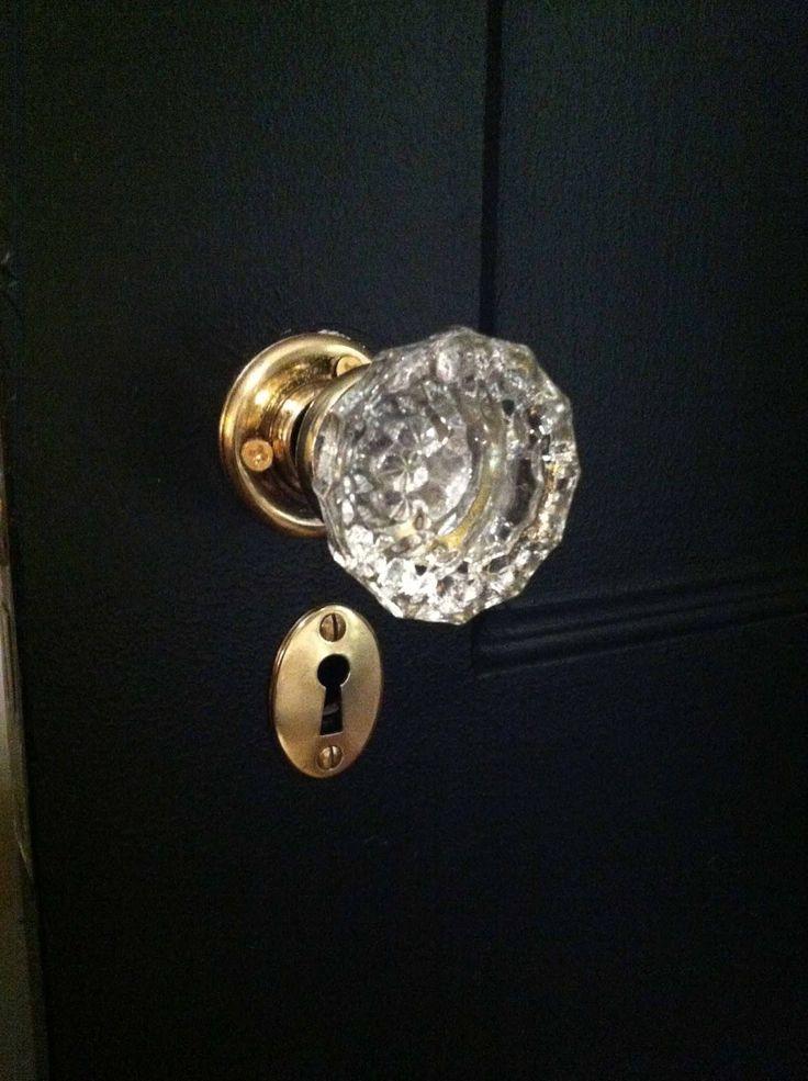 black interior door knobs photo - 16