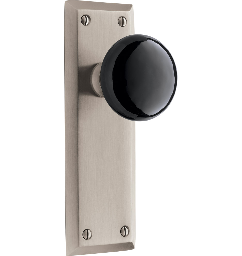black interior door knobs photo - 5
