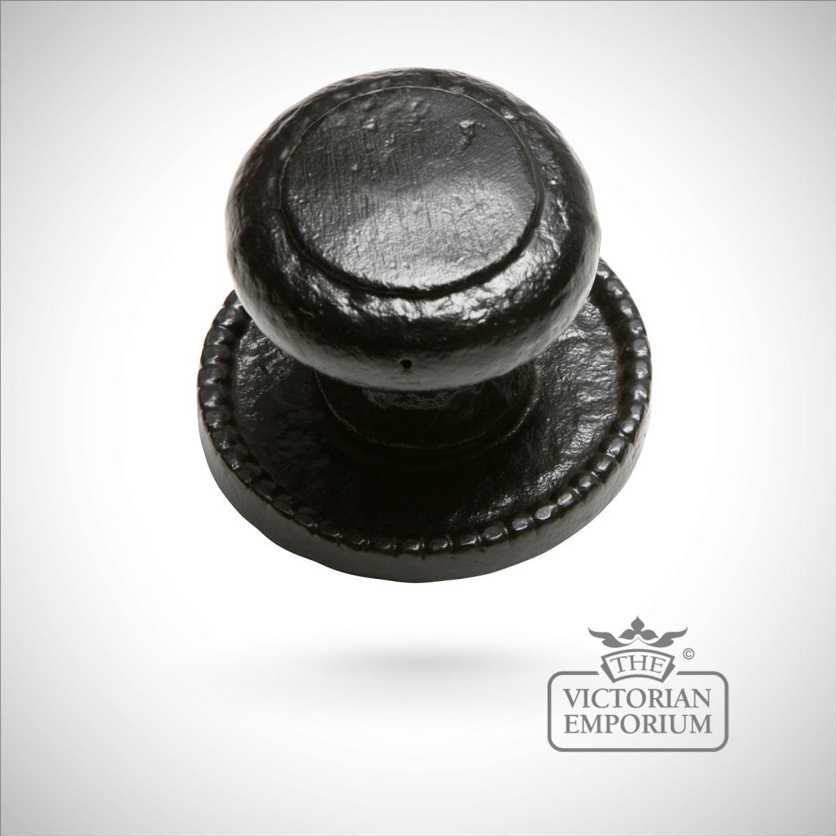 black iron door knobs photo - 3