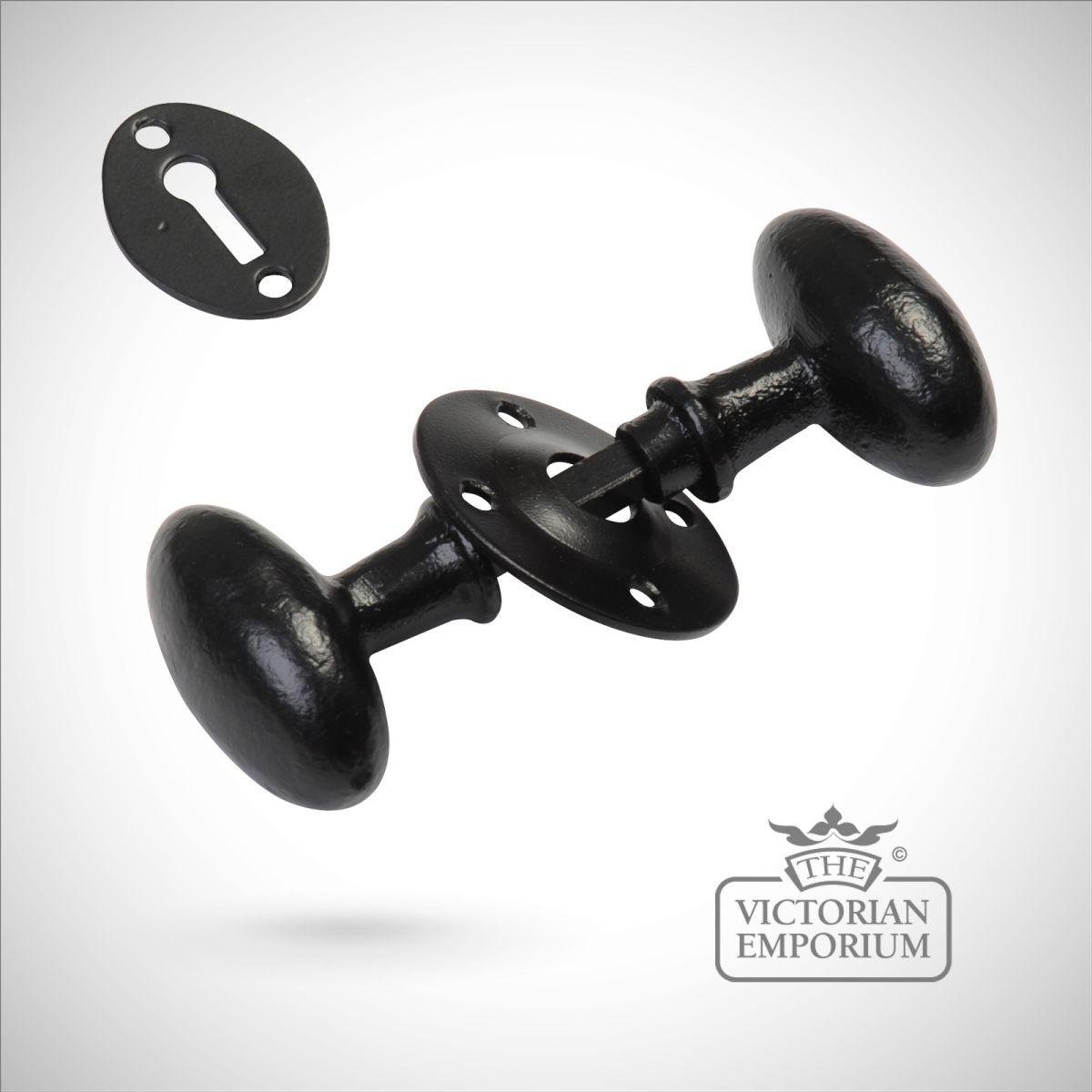 black iron door knobs photo - 7