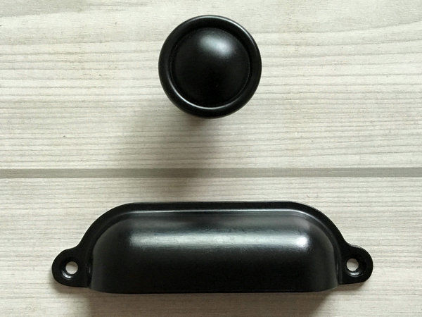 black kitchen door knobs photo - 20