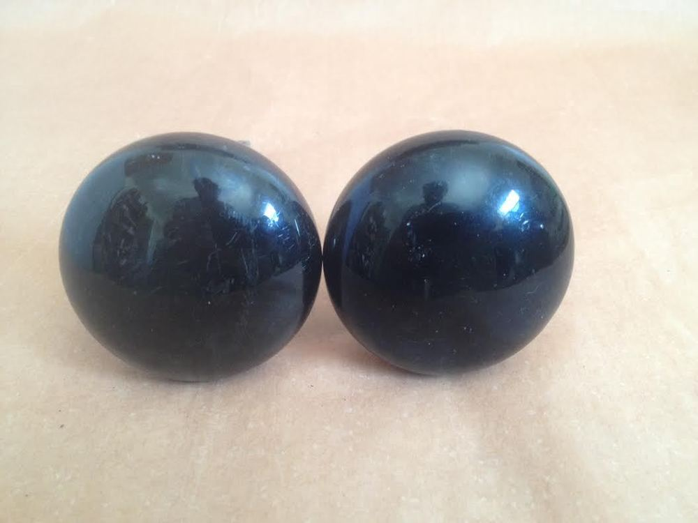 black porcelain door knobs photo - 18