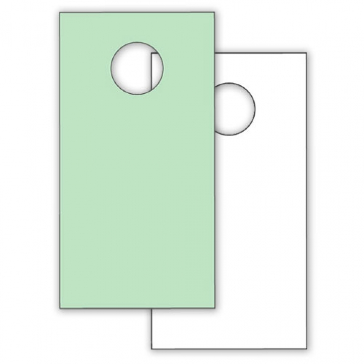 blank door knob hangers photo - 18