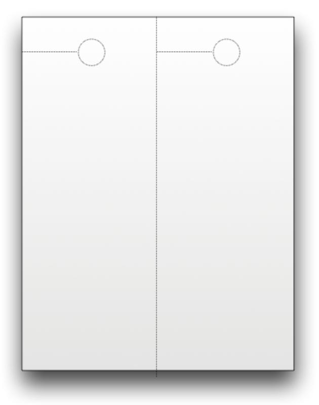 blank door knob hangers photo - 5