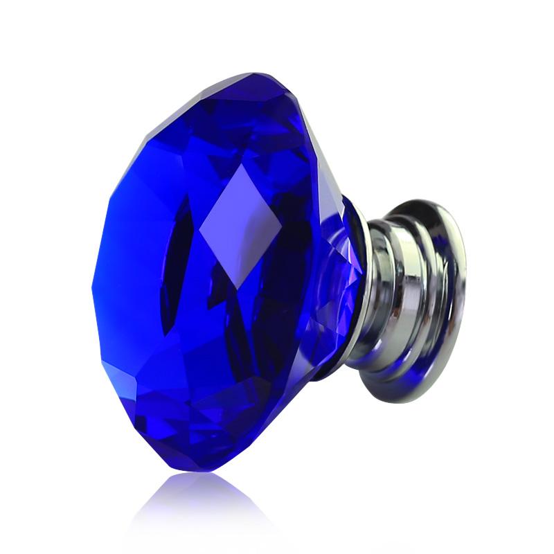blue door knob photo - 16