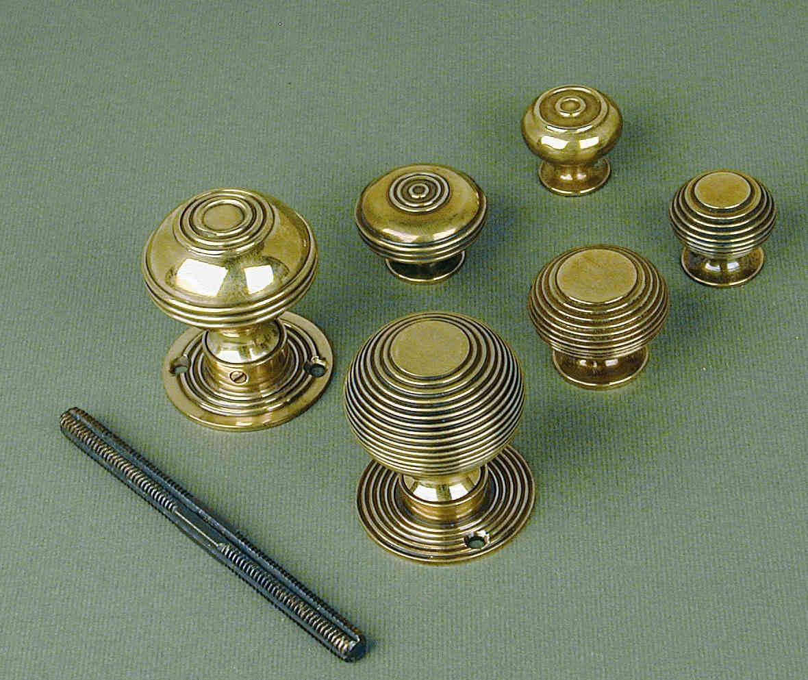 brass cupboard door knobs photo - 8