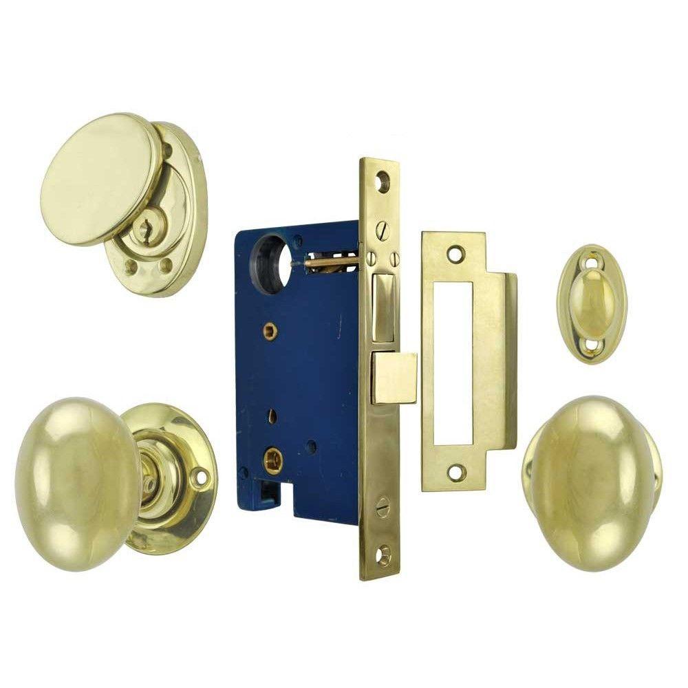 brass front door knob photo - 4