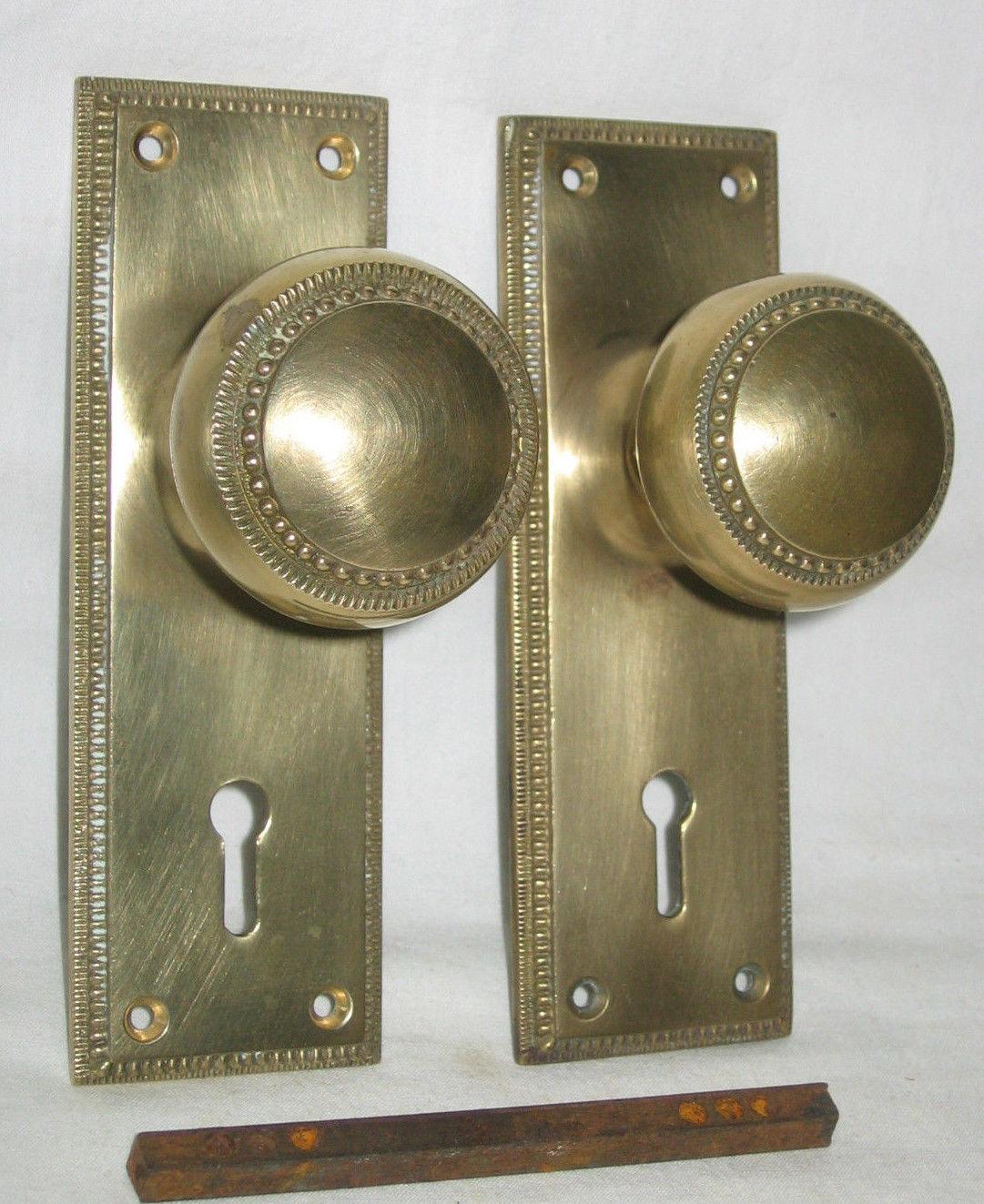 brass front door knob photo - 5