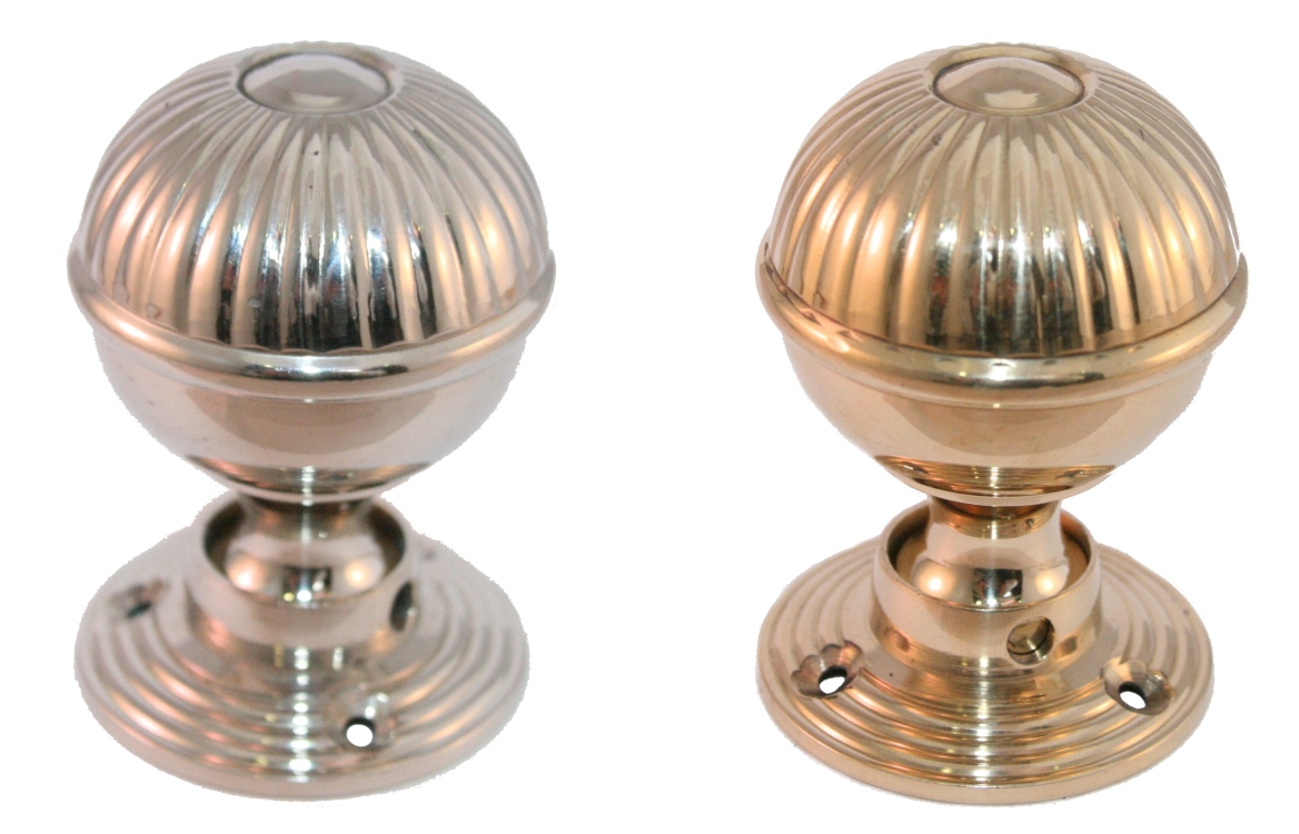 brass interior door knobs photo - 8