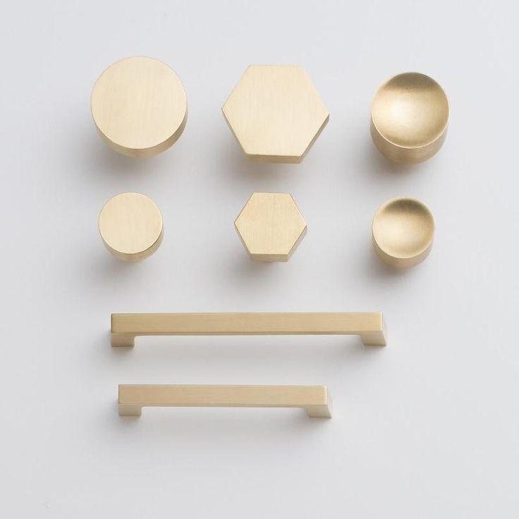 brass kitchen door knobs photo - 11