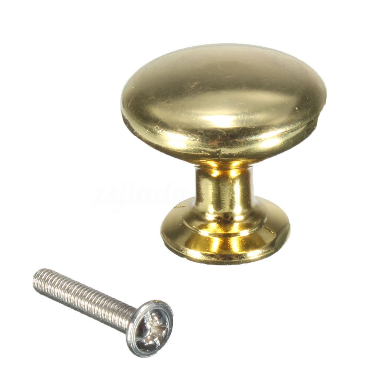 brass kitchen door knobs photo - 16