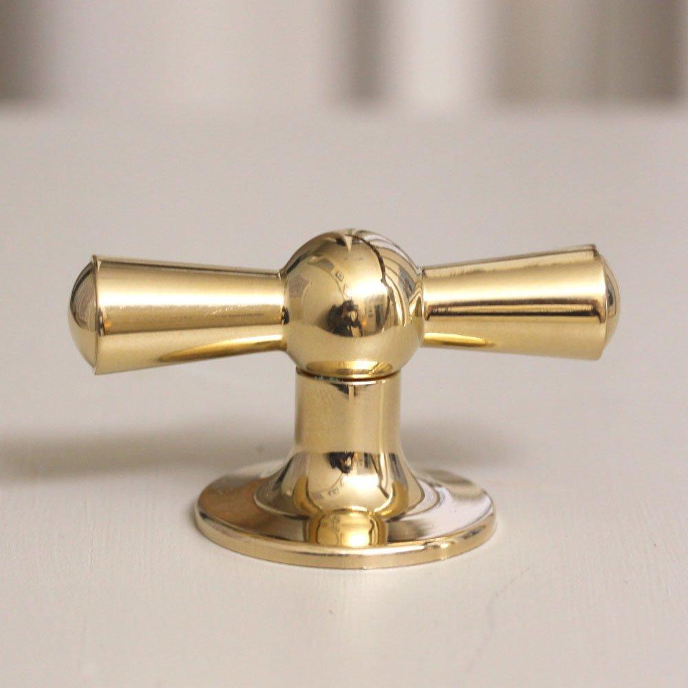brass kitchen door knobs photo - 3