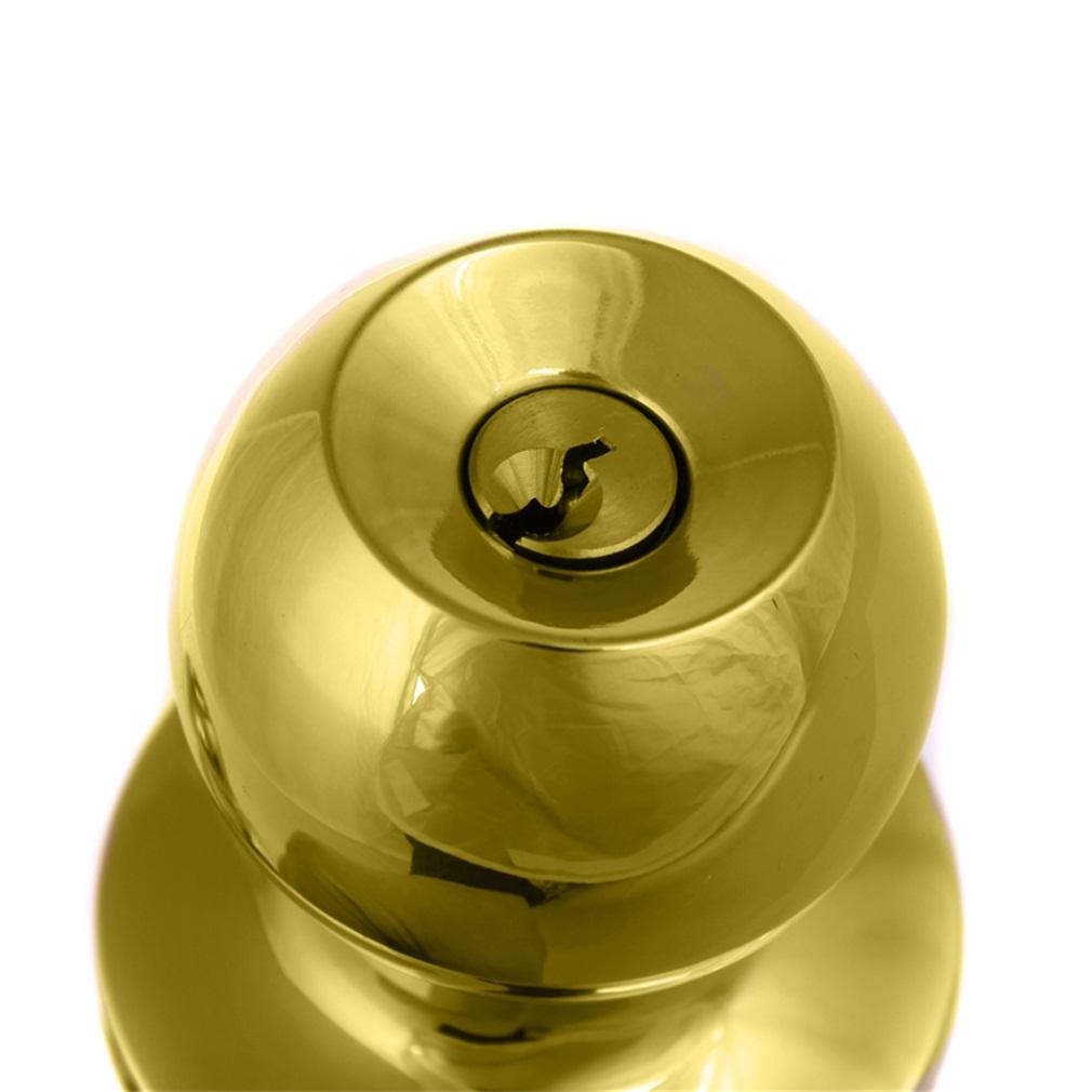 brushed chrome door knobs photo - 19