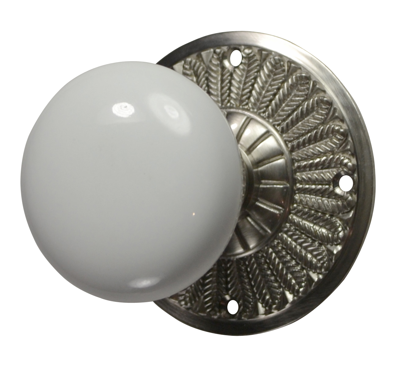 brushed nickel interior door knobs photo - 11