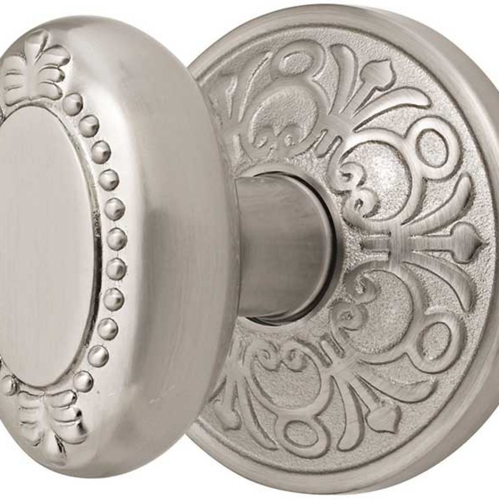 brushed nickel interior door knobs photo - 6
