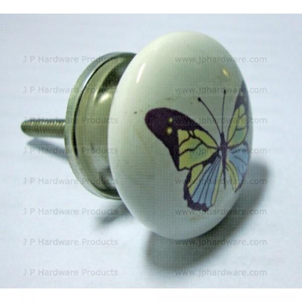 butterfly door knob photo - 11