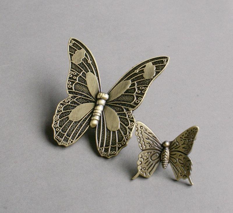 butterfly door knob photo - 18
