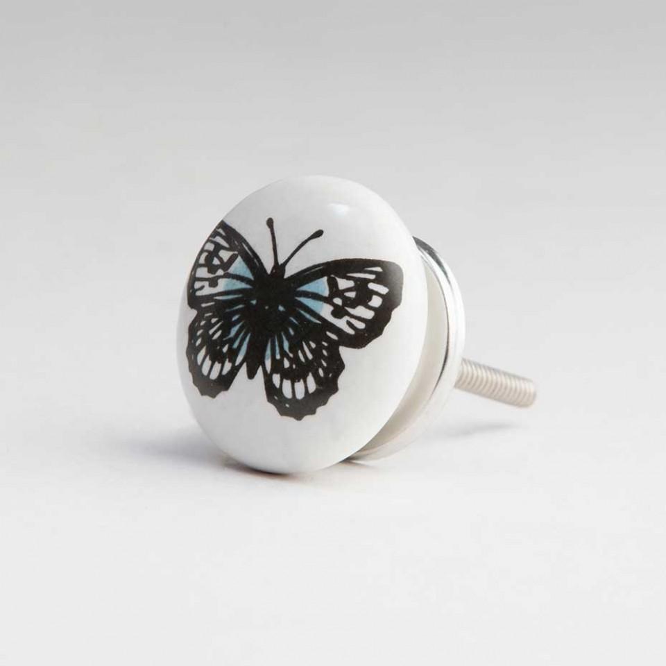 butterfly door knob photo - 2