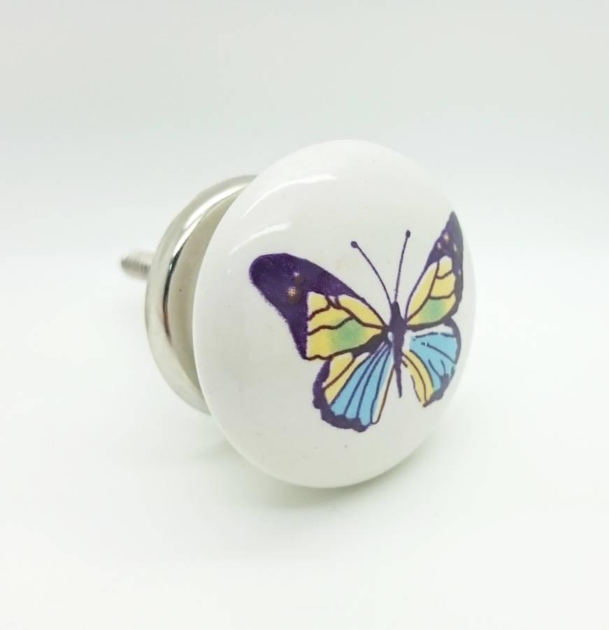 butterfly door knob photo - 5