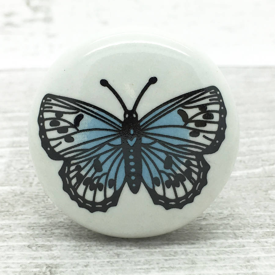 butterfly door knobs photo - 10