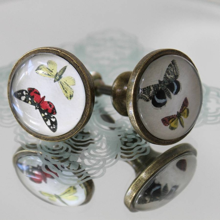 butterfly door knobs photo - 4