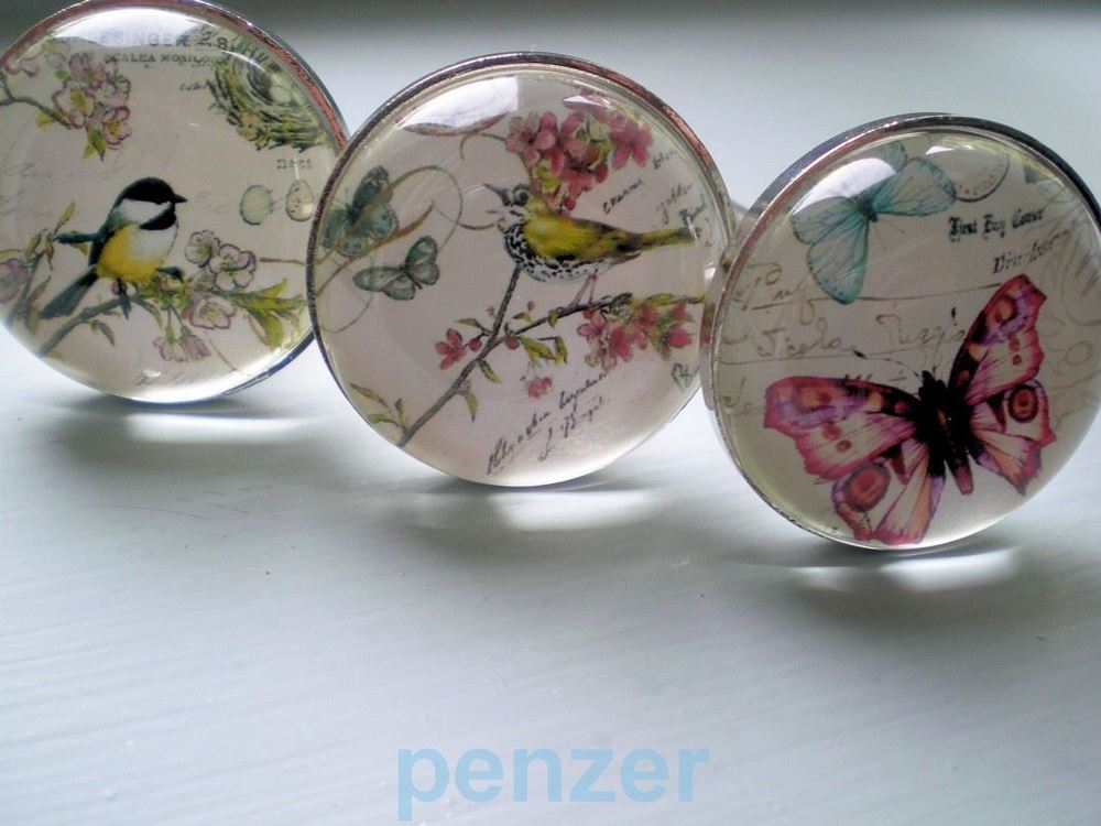 butterfly door knobs photo - 8