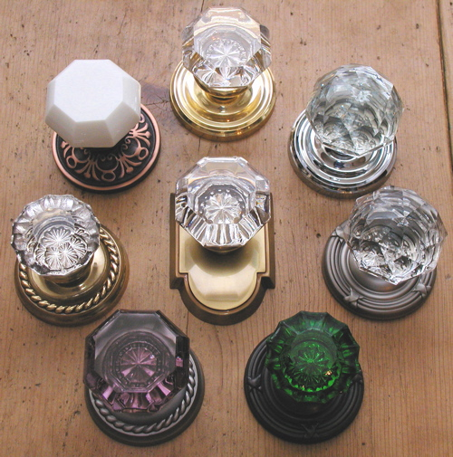 buy glass door knobs photo - 1