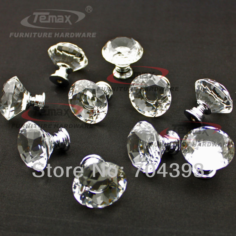 cabinet door knobs glass photo - 20