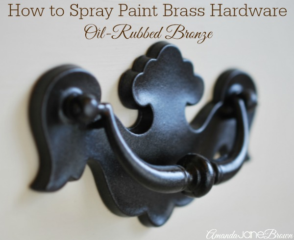 can you paint brass door knobs photo - 10