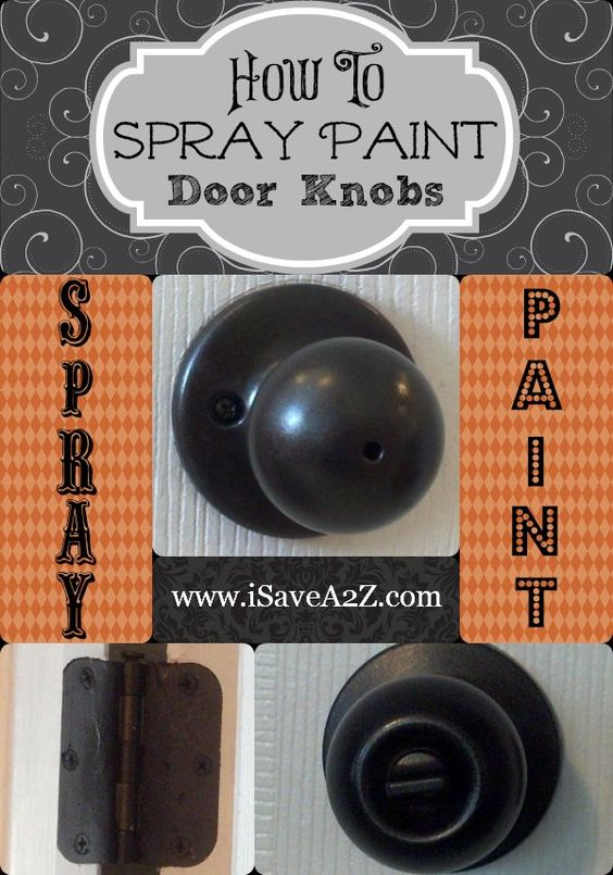 can you paint brass door knobs photo - 5