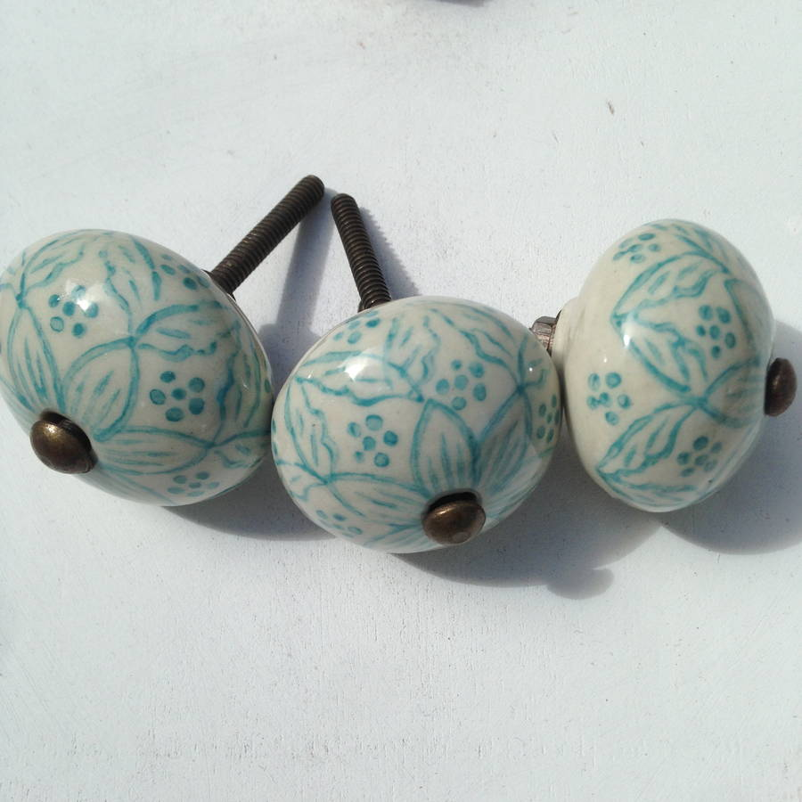 ceramic door knobs photo - 6