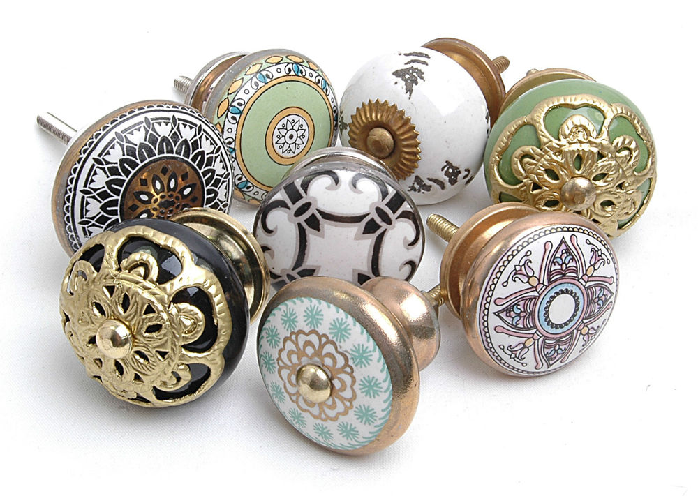 ceramic kitchen door knobs photo - 11