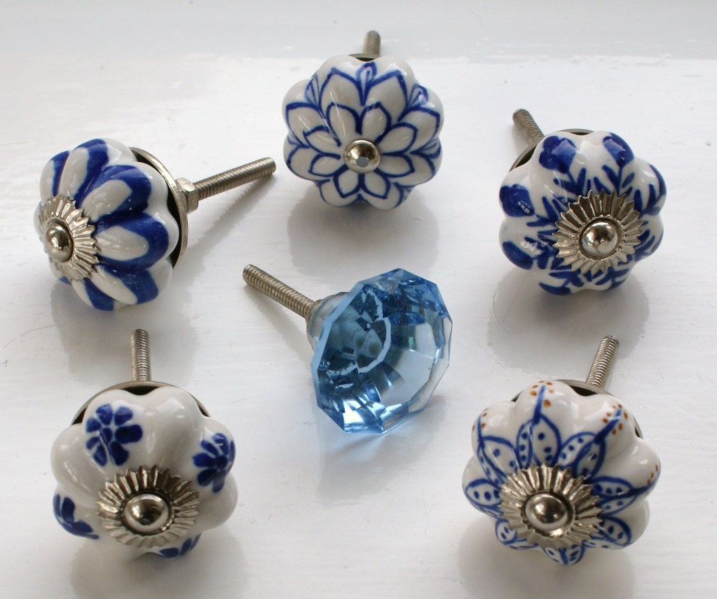 ceramic kitchen door knobs photo - 2