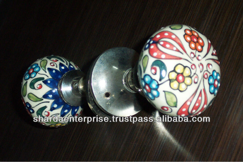 ceramic mortice door knobs photo - 11