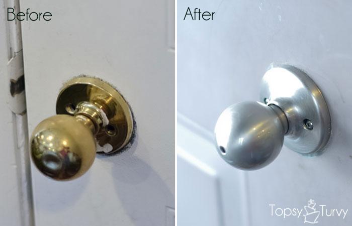 changing door knobs photo - 1