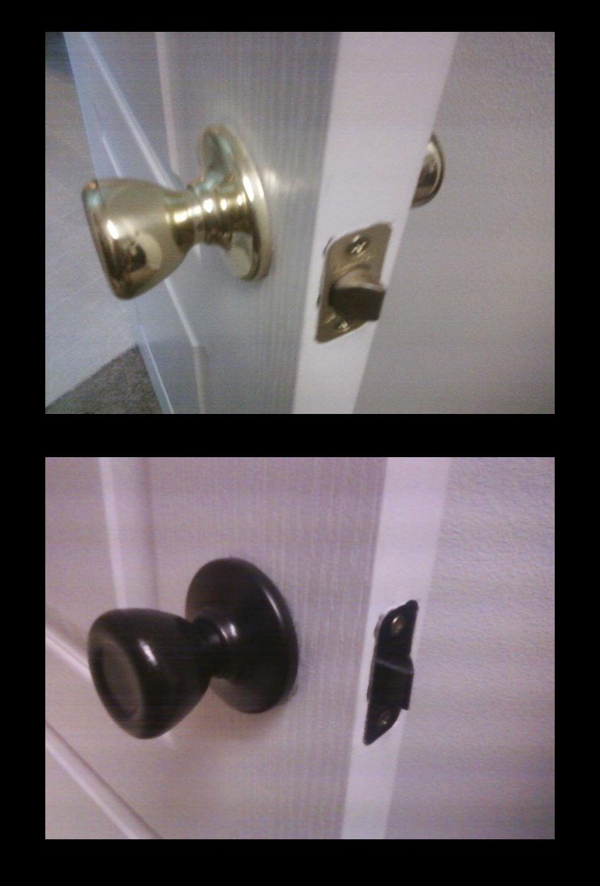 changing door knobs photo - 10