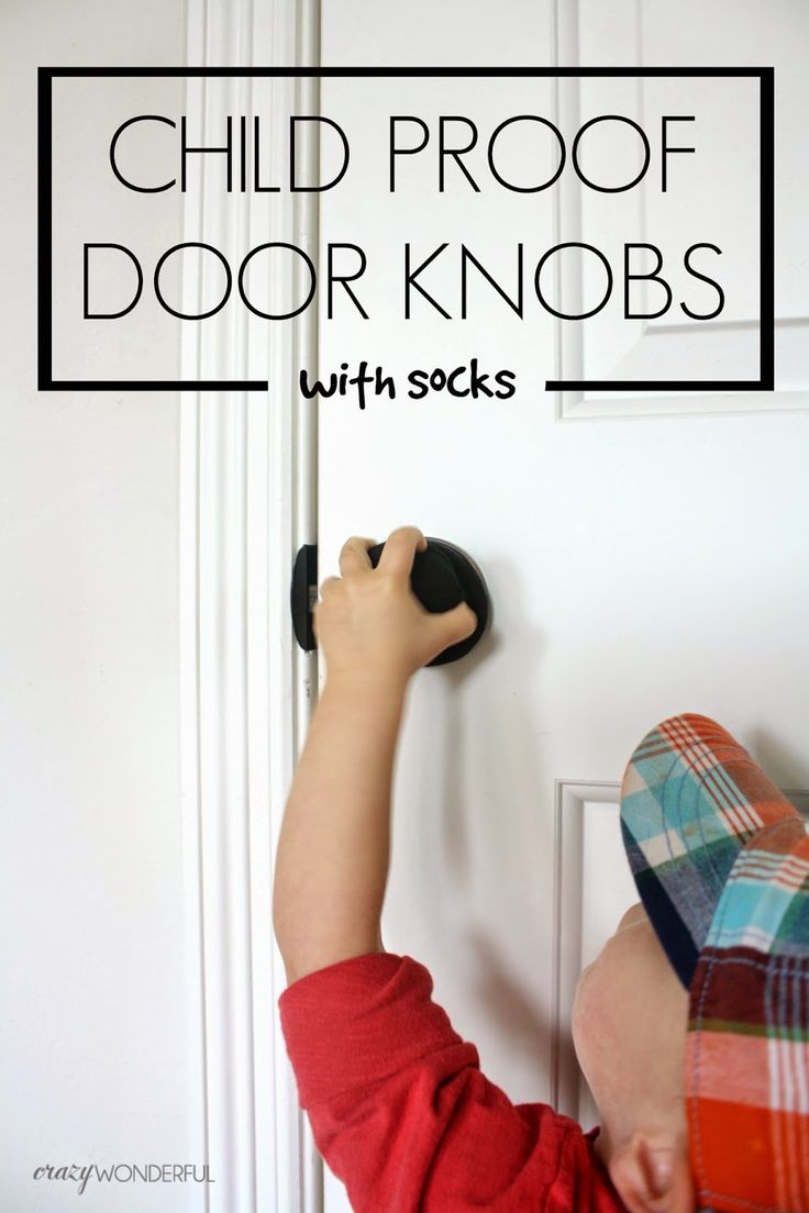 child proof door knobs photo - 12