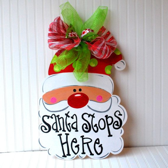 christmas door knob hangers photo - 18