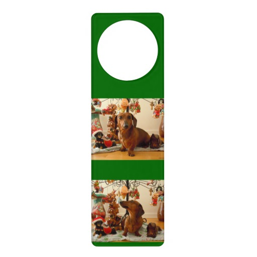 christmas door knob hangers photo - 2