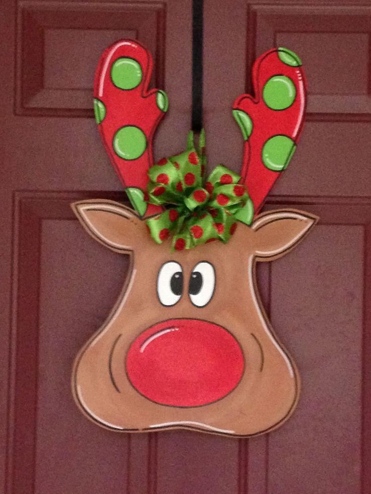 christmas door knob hangers photo - 20