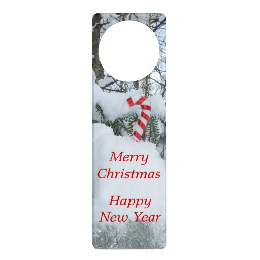 christmas door knob hangers photo - 5