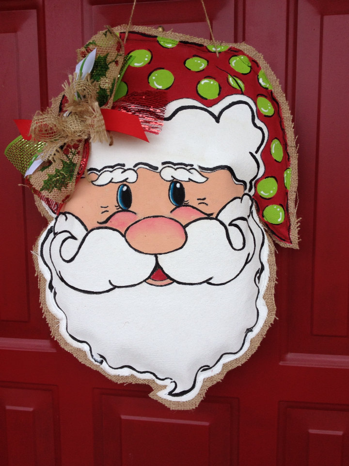 christmas door knob hangers photo - 8