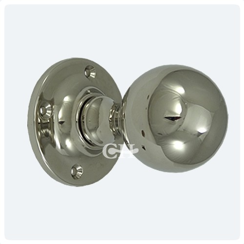 chrome door knob photo - 12