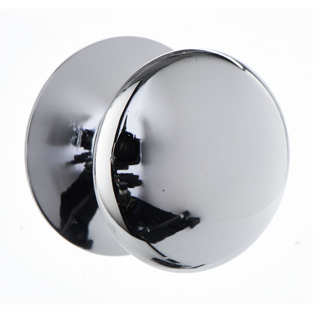 chrome door knob photo - 13