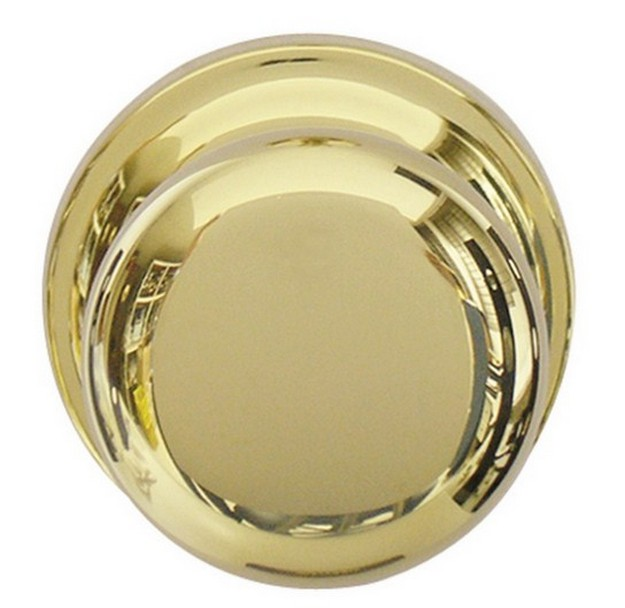 clean brass door knob photo - 4