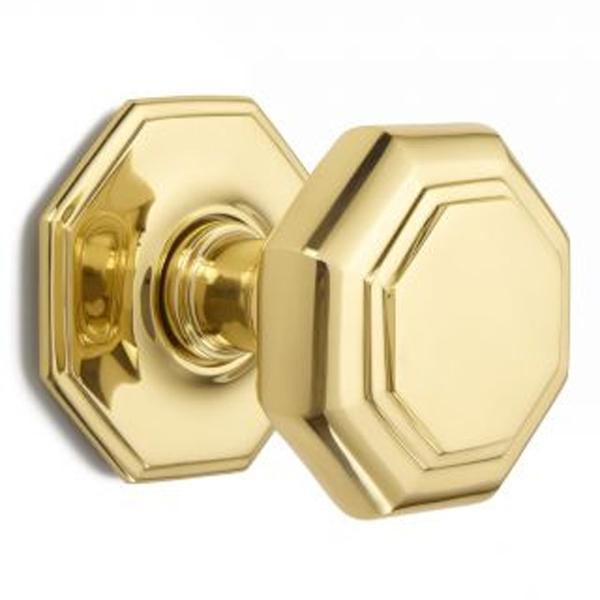 clean brass door knob photo - 5