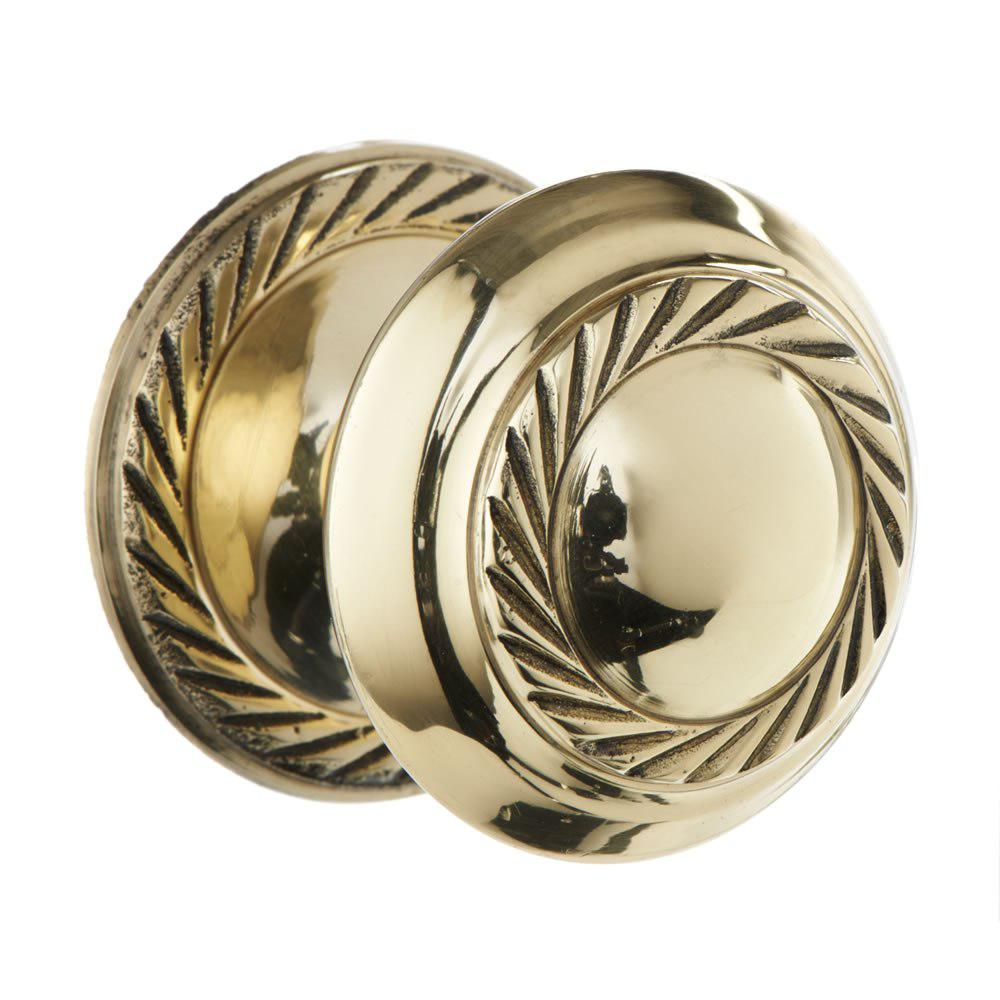 clean brass door knob photo - 8