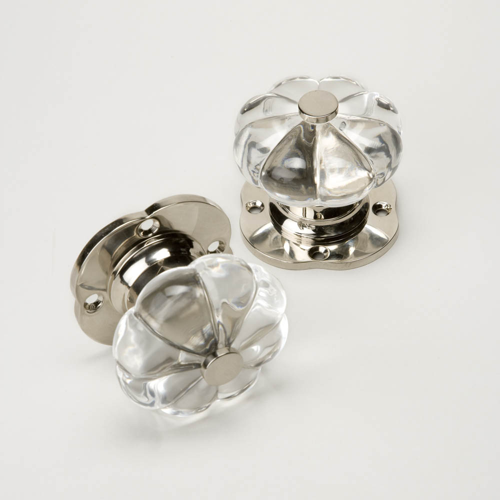 clear door knobs photo - 13
